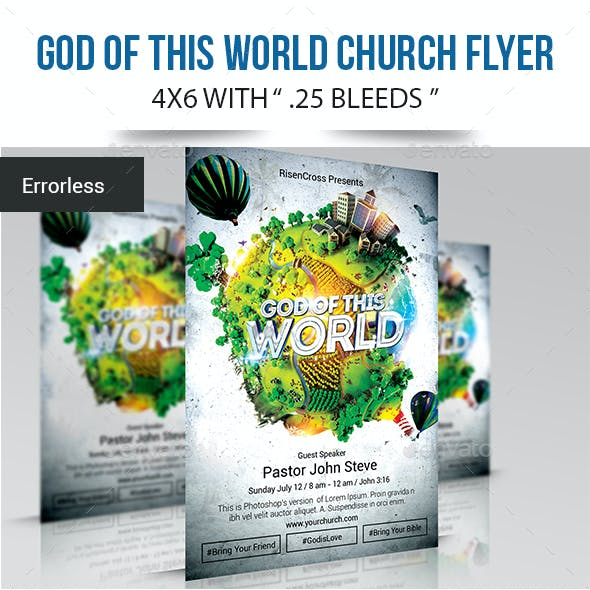 God of this World Flyer