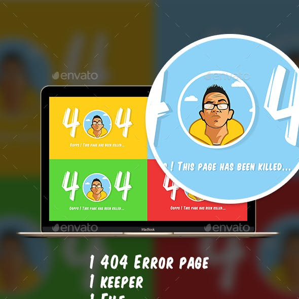 The 404 Error keeper