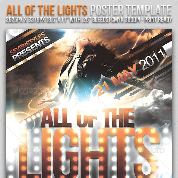 Lights Poster/Flyer Template