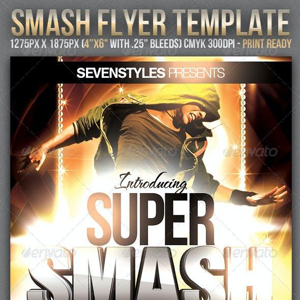 Smash Flyer Template