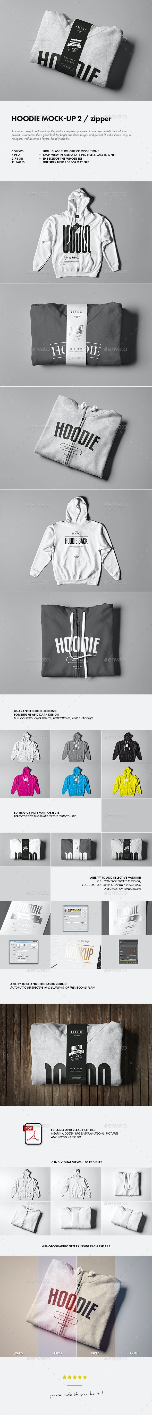 Hoodie Mock-up 2 - Apparel Product Mock-Ups