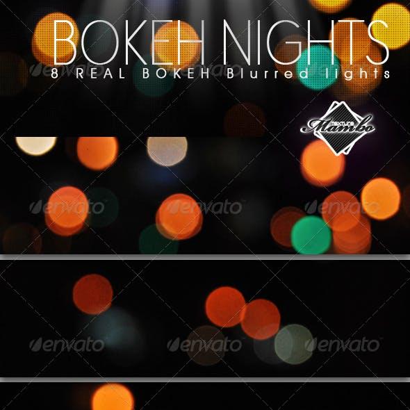 Bokeh Nights - Real blurred lights