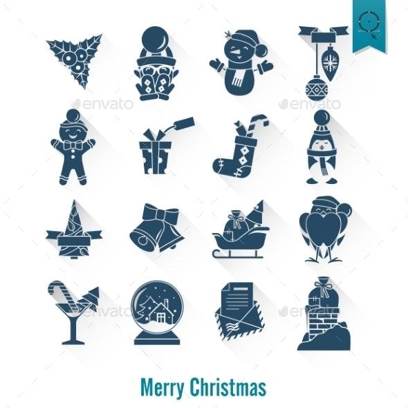 Christmas and Winter Icons Collection - Christmas Seasons/Holidays
