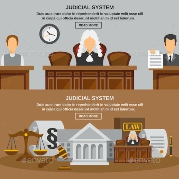 Law Banner Set
