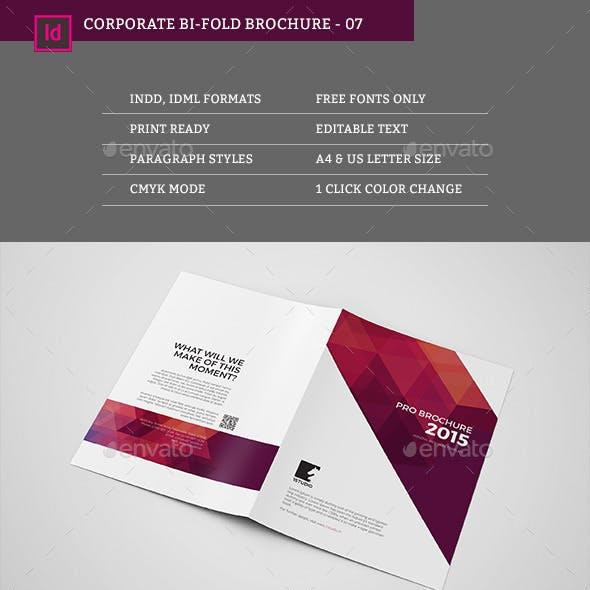 Bifold Brochure 07