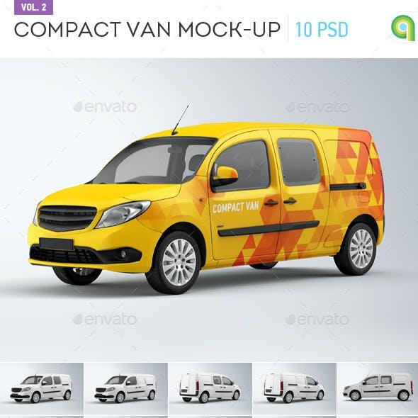 Compact Van Mock-up vol.2