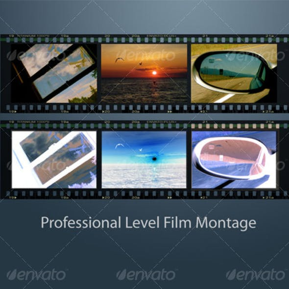 Professional Level Film Strip Montage