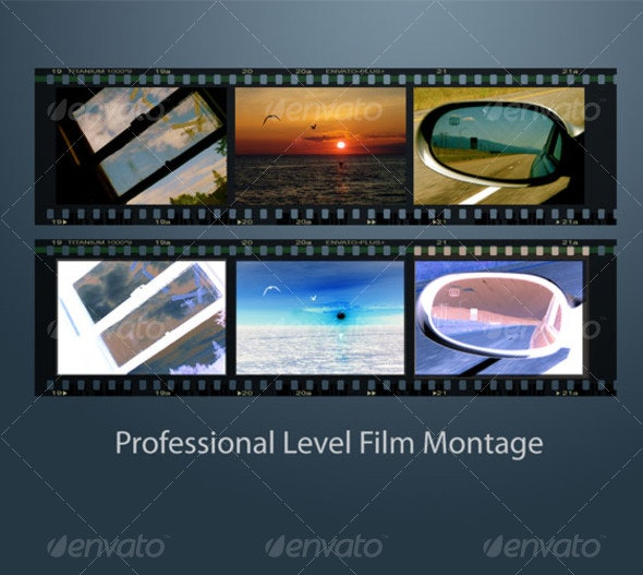 Professional Level Film Strip Montage - Miscellaneous Graphics