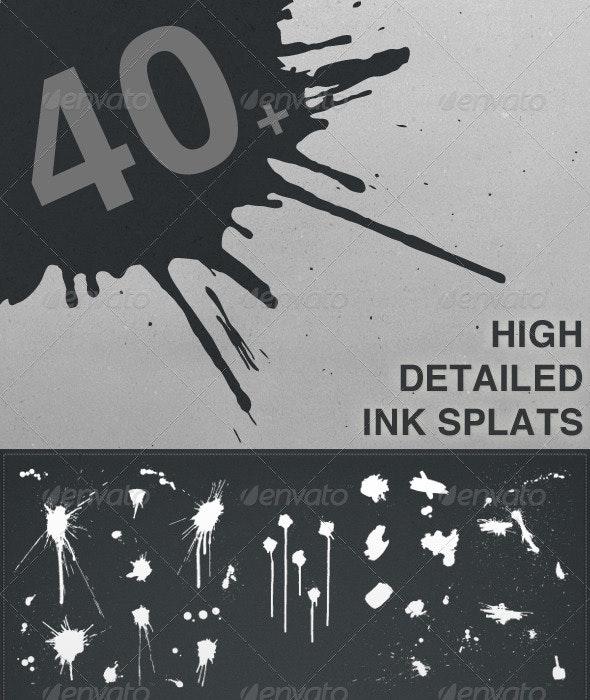 Ink Splat Pack - Decorative Vectors