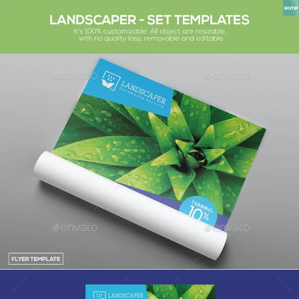 Landscaper - Set Templates