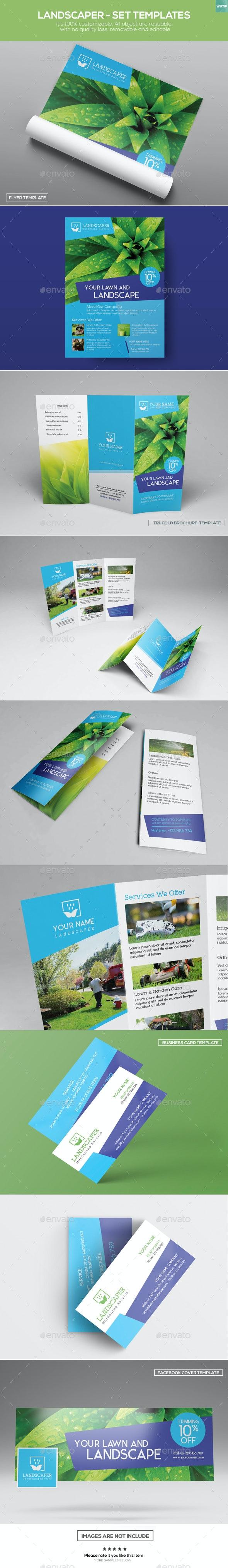 Landscaper - Set Templates - Commerce Flyers
