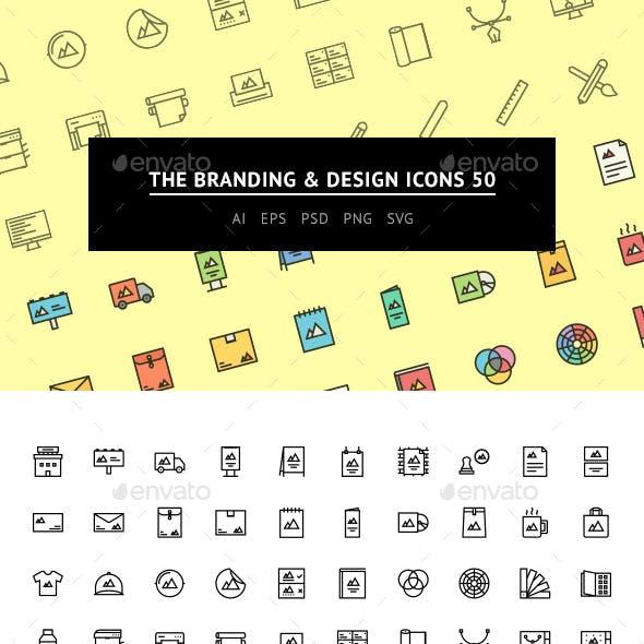The Branding & Design Icons 50