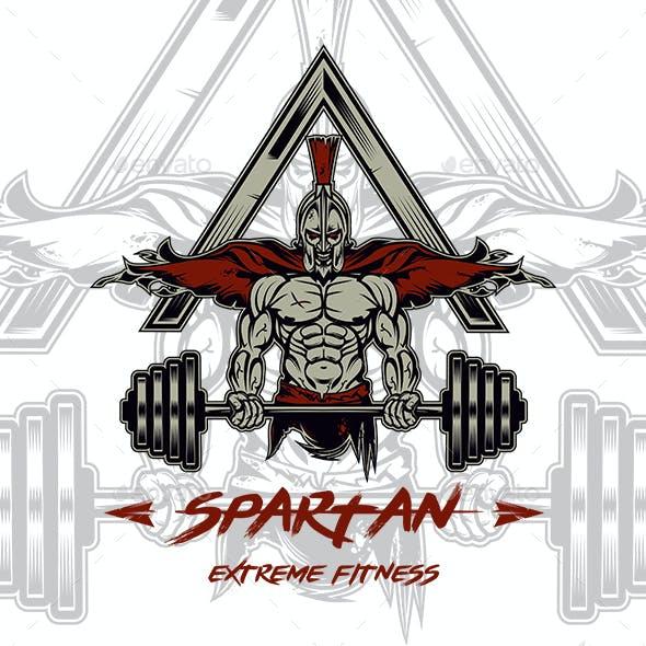 Spartan Extreme Fitness T-shirt Design