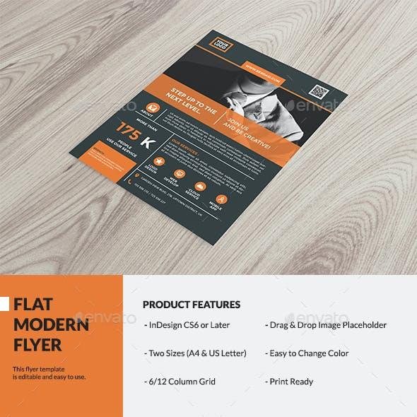 Flat Modern Flyer