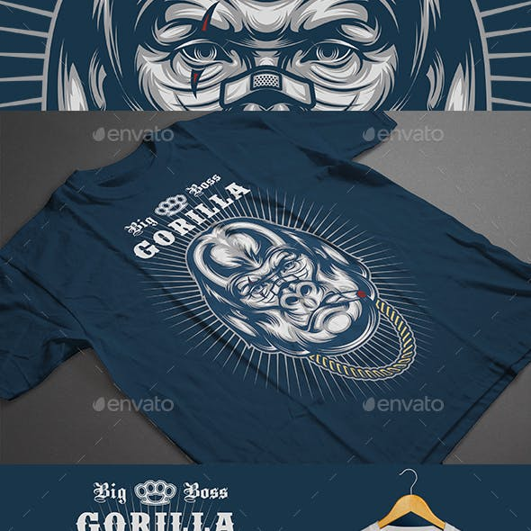 Big Boss Gorilla T-shirt