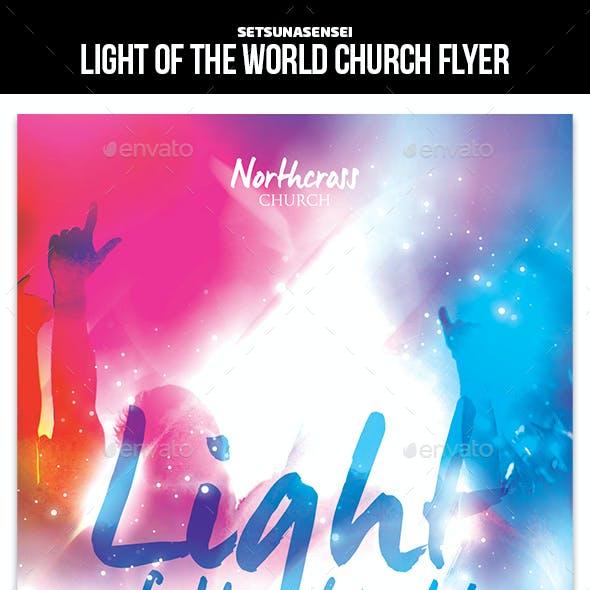 Light of the World Church Flyer