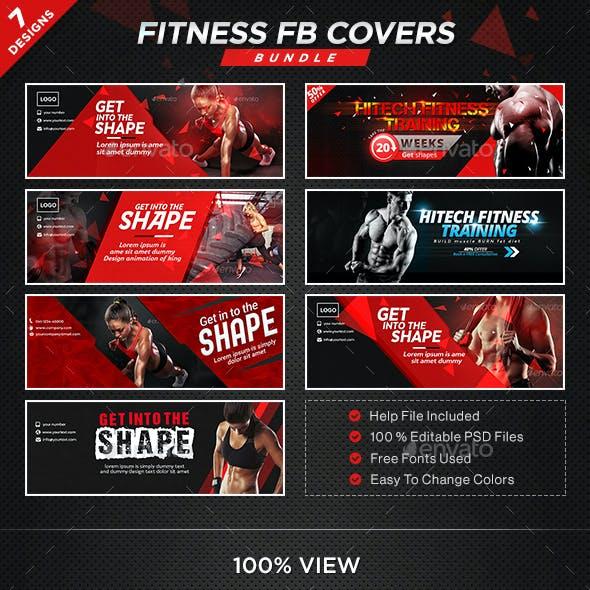 Multipurpose Facebook Covers Bundle - 10 Designs