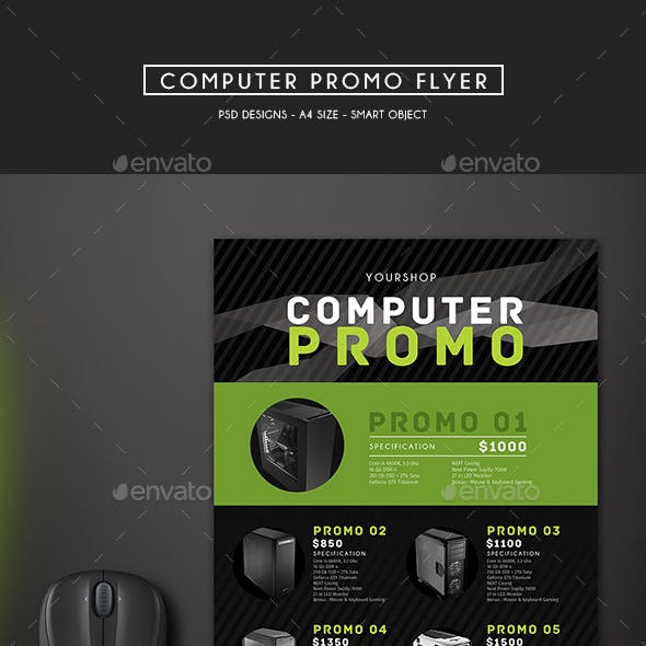 Computer Promo Flyer