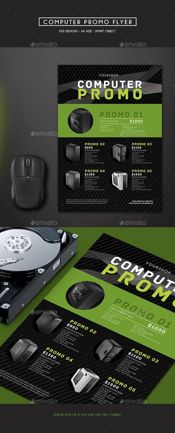 Computer Promo Flyer - Commerce Flyers