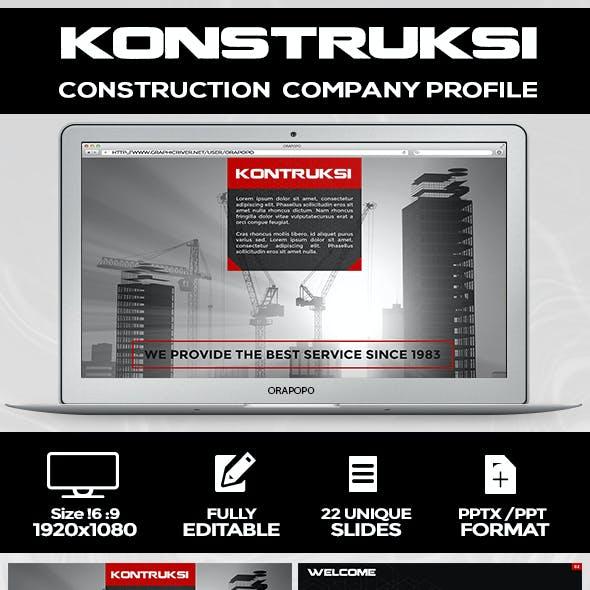 Construction Company Profile