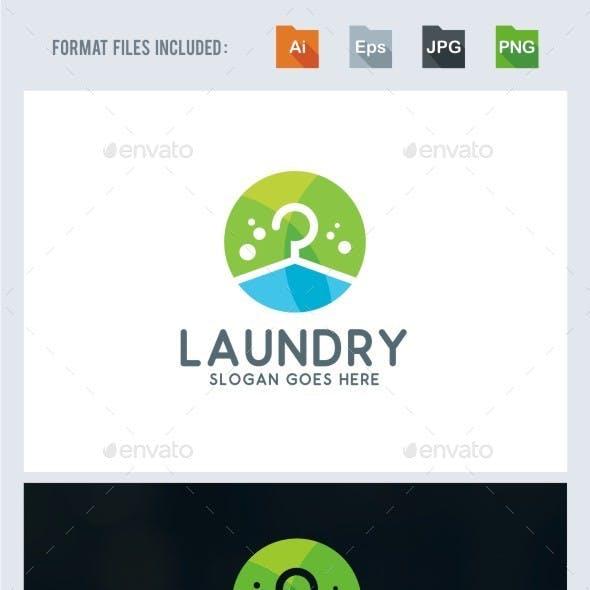 Laundry Logo Template
