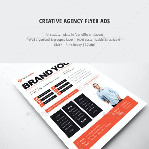 Creative Agency Flyer Ads