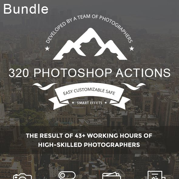 320  Photoshop Actions