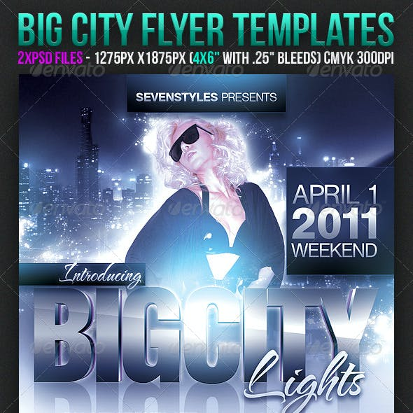 Big City Flyer Templates