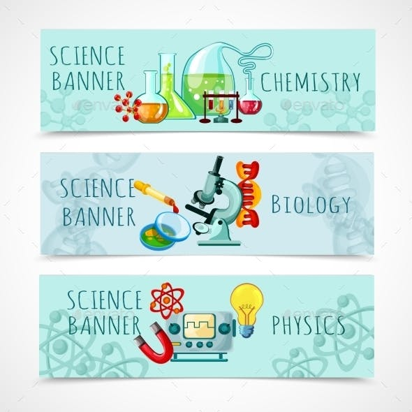 Science Banner Set