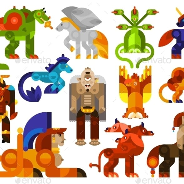 Mythical Creatures Icons
