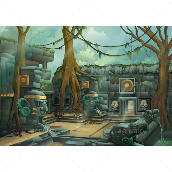 Ruins at Jungle