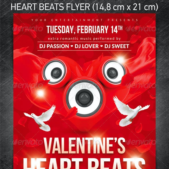 Heart Beats Flyer