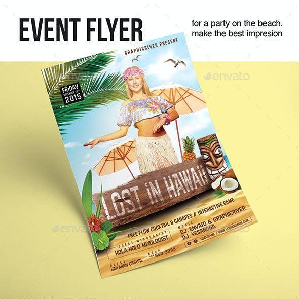 Flyer Lost In Hawaii