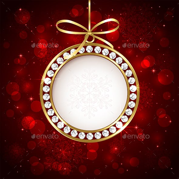 Christmas Ball with Diamond