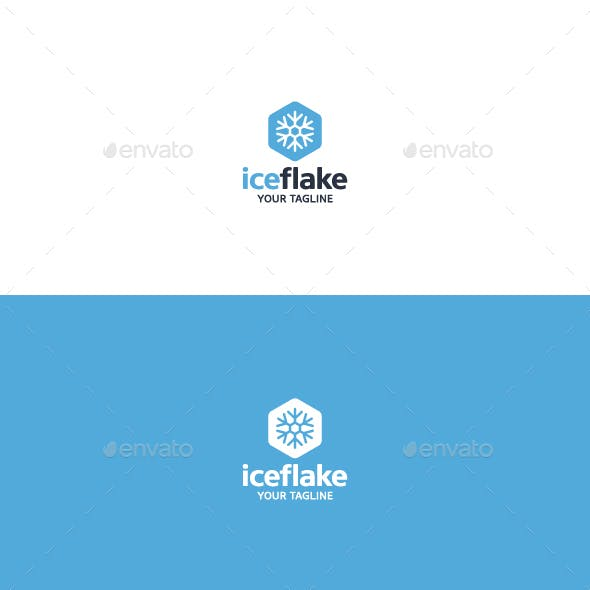 Ice Flake - Logo Template
