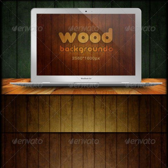 Wood Backgrounds - Grunge & Scratch