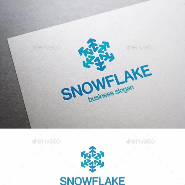 Snowflake Snow Logo