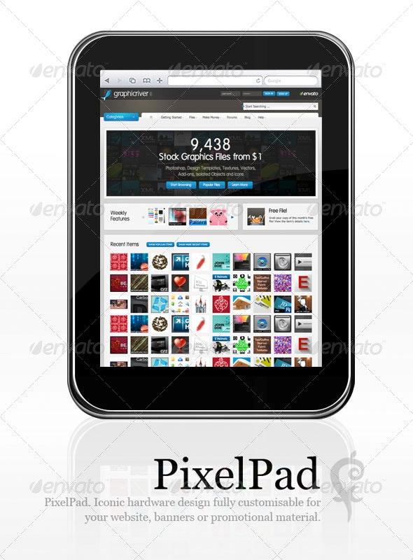 PixelPad - Mobile Displays