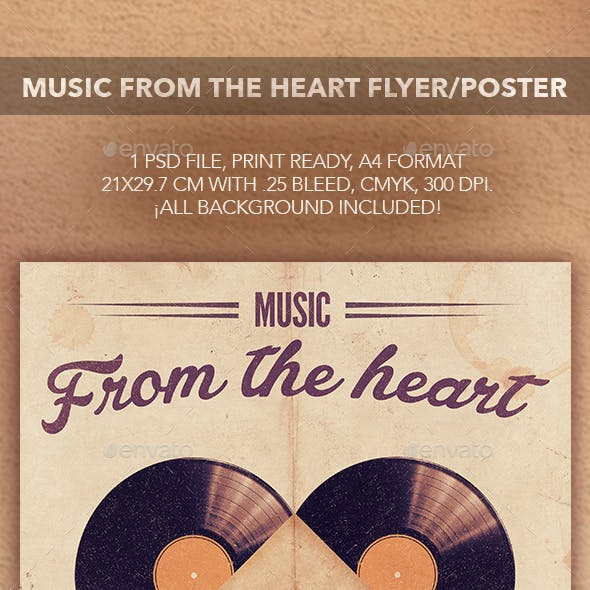 Music From The Heart Flyer Poster