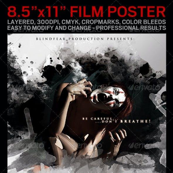 "Movie Poster, 8.5""x11"""