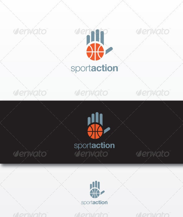 Sportaction - Humans Logo Templates
