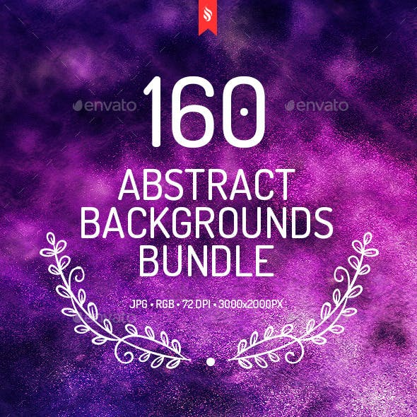 160 Abstract Backgrounds Bundle