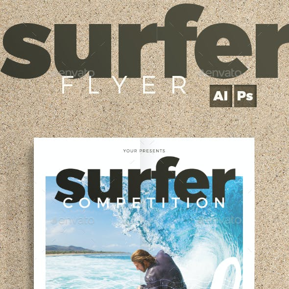 Surfing Flyer