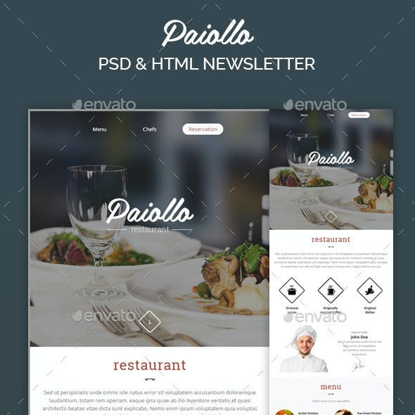 PSD E-newsletter Templates from GraphicRiver (Page 5)