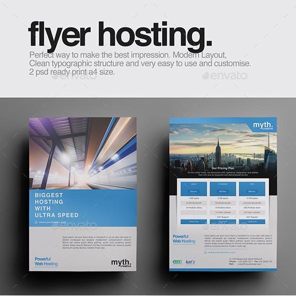 Flyer Hosting Multiuse