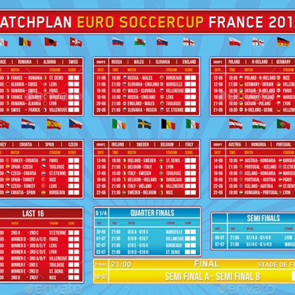Matchplan Euro Soccer Tournament 2016