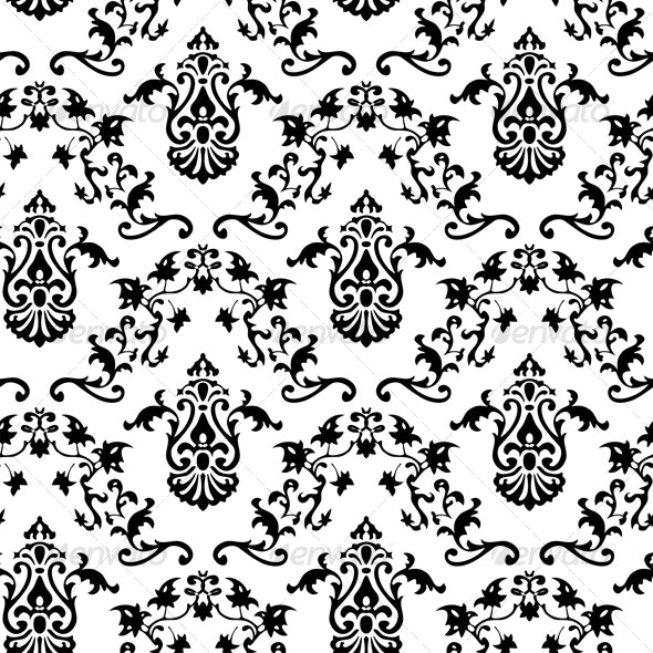 Seamless Classicism pattern - Patterns Decorative