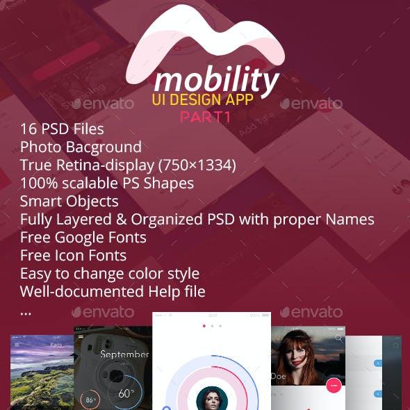 Mobility UI Kit Part1