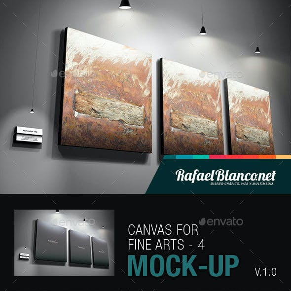 Canvas for Fine Arts Mock-Up 4