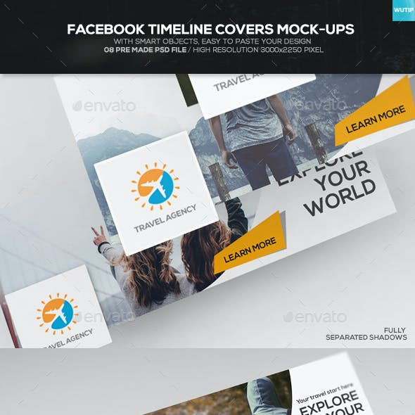 Facebook Timeline Covers Mock-up